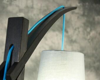 Egret Floor Lamp . Wood Japanese Joinery . Modern . MCM