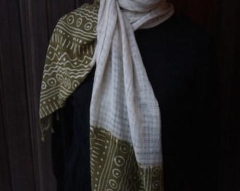 Handmade Bogolan Scarves from Mali