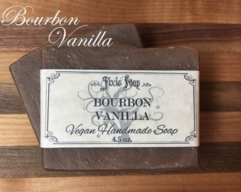 Bourbon Vanilla Handmade Natural Vegan Soap
