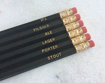 Beer Pencil Set