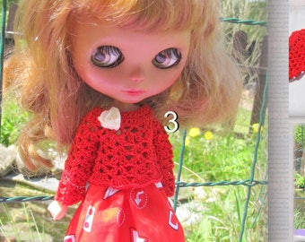 Doll suit for blythe free Shipping big sale