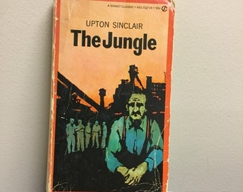 The Jungle by Upton Sinclair Vintage Book