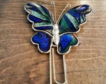 Butterfly Paperclip Style Bookmark