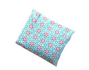 Corn Bag Heating Pad, Microwave Heat Pack, Corn Filled, Heat Therapy, Heat Pad Sleeve, Flannel Warming Bag, Coral, Teal, White