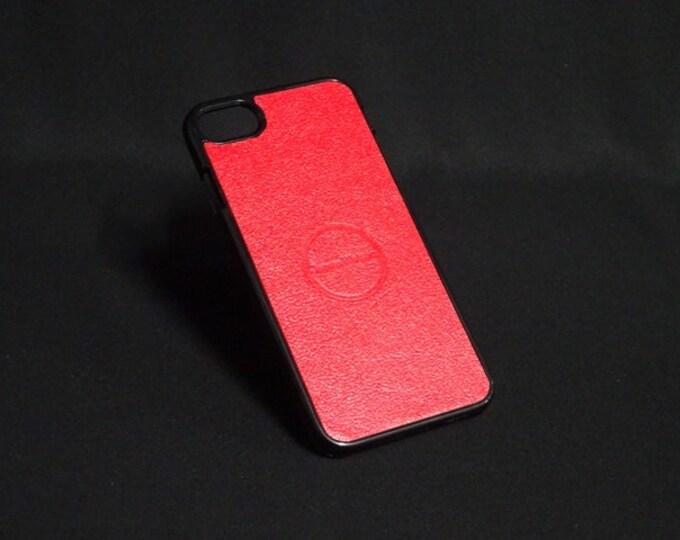 Jimmy Case - Fits Apple iPhone 7 - Red - Kangaroo leather - Handmade - James Watson
