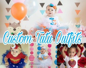 Custom Birthday Tutu Outfit