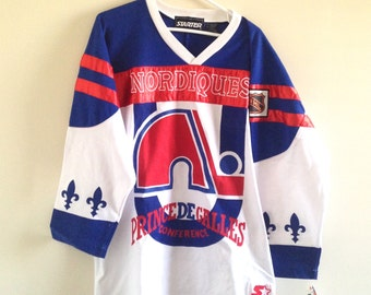 Quebec Nordiques Starter Ornamental Fan Jersey
