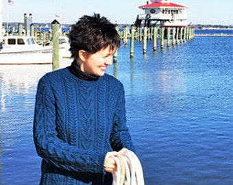 PATTERN ONLY - Cambridge Pullover
