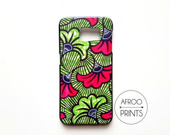 AFROOPRINTS. Phone case Wax African Prints XLVIII