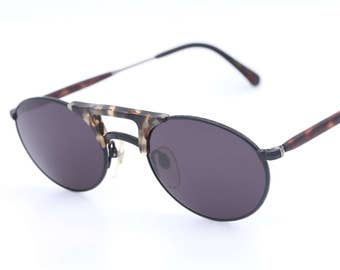 Matsuda 2820 vintage oval sunglasses / designer sunglasses / made by Muray in the 90's