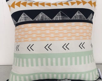 Aztec Indian Mint childrens Cushion Cover