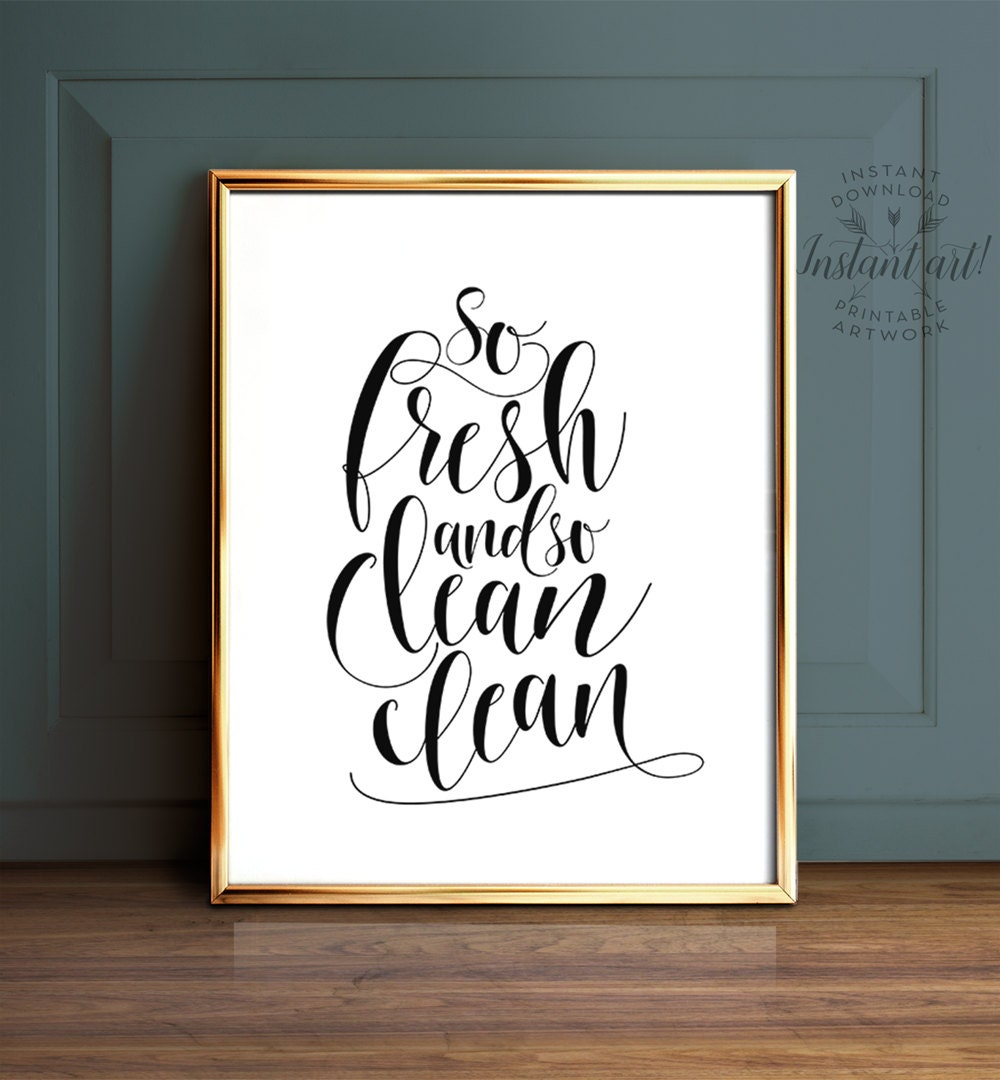 Resource image for printable bathroom wall art