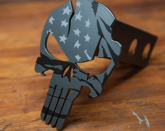 American Punisher Warrior - Trailer Hitch Cover