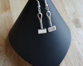 Thors Hammer Mjölnir earrings