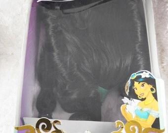 Princess Jasmine Wig, Disney Princess Wig, Jasmine theme,  cosplay wig, princess Jasmine