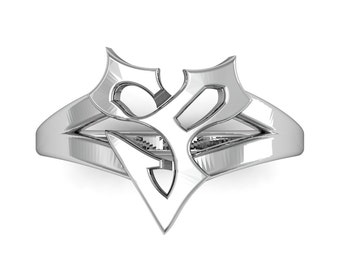 Final Fantasy 10 Ring in Sterling Silver