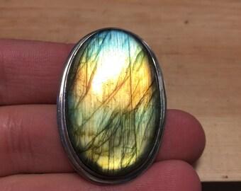Labradorite Ring, Sterling Silver Labradorite Ring, Labradorite, Gemstone, Labradorite Designer Ring, Labradorite Jewelry,Silver Labradorite
