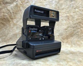 Working Polaroid OneStep CloseUp Camera // Film Tested