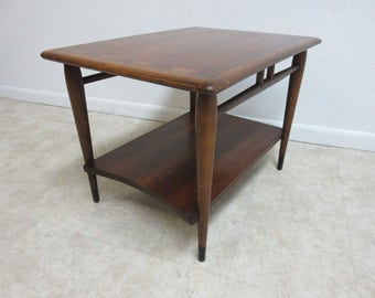 Vintage Lane Acclaim Danish Modern Dovetail Lamp End Table