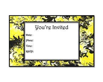 Your invited color swirl