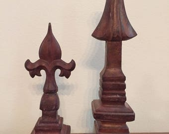 Set of 2 Finials