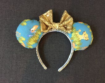 Disney Lion King Minnie Mouse Ears
