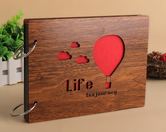 Life is a journey etsy - Album de fotos personalizado ...