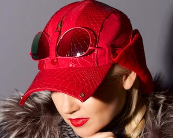 Winter hat Atelier Gorolev handmade.