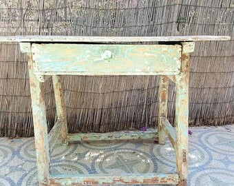 Mesa tocinera antigua / antique kitchen table