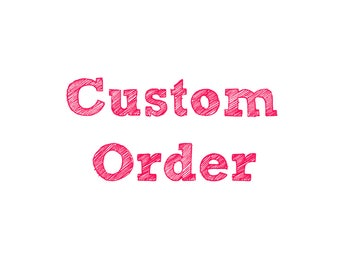 Customize my Order