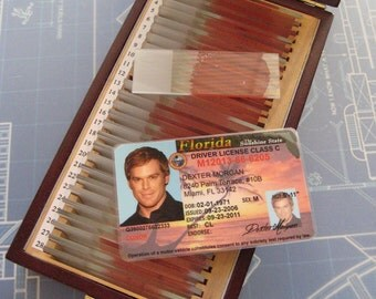 Dexter Morgan Driver's License - Prop - Cosplay - B3G1F