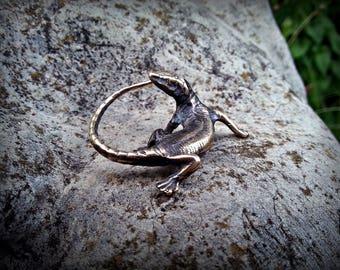Lizard, Totem Lizard, reptile, figurine, luck