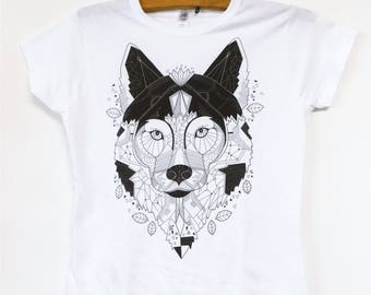 "Limited edition ""Geometric Wolf"" T-shirt"