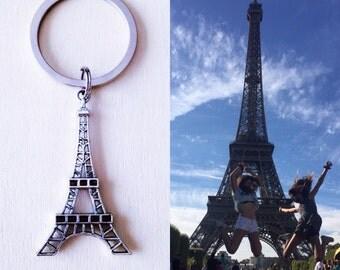 Eiffel Keychain, Paris keychain, Keychain Tower Eiffel, Eiffel Tower Keychain