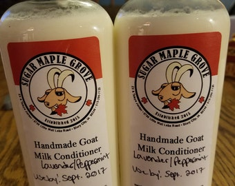 Goats milk conditioner