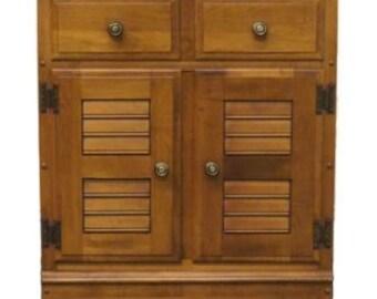 HEYWOOD WAKEFIELD Old Colony Maple 24u2033 Cabinet H12 044
