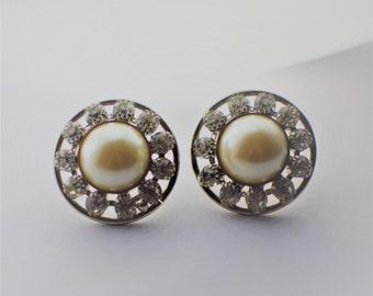 Vintage LES BERNARD Statement Earrings