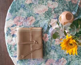 Vegan Tan Handmade Faux Leather Journal