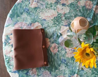 Vegan Brown Faux Leather Journal
