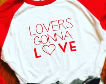 Lovers Gonna Love Baseball Tee