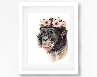 Bonobo Print