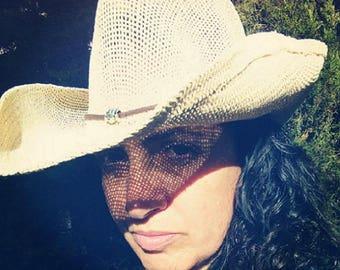 Fish cowboy hat