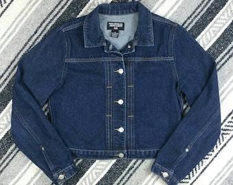 Vintage 1990s Ralph Lauren Polo Jean Jacket size S/M
