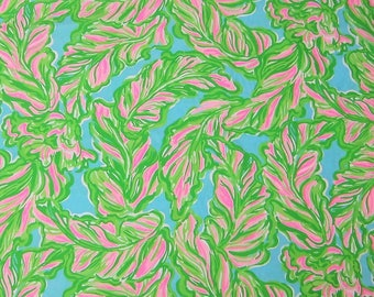 Lilly Pulitzer Fabric In The Bungalows Cotton Poplin