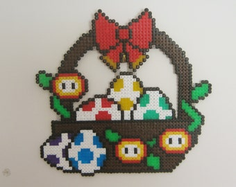 Super Mario Easter Basket
