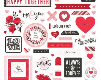 "Photo Play Paper | So Loved | Stickers 12""X12"" 