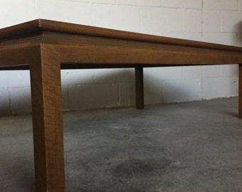 Mid Century Walnut Coffee Table