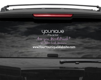 Younique Car Decal Etsy - Window car decals