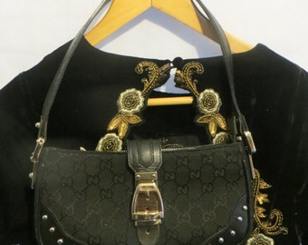 Gucci Bag/hand bag /shoulder bag/leather and Canvas/iphone/ipad/Ladies Essential/party/event