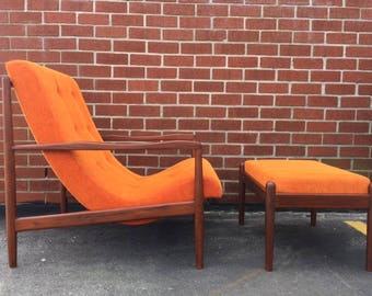 Amazing Teak Lounge Chair